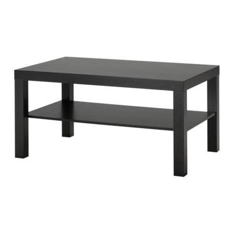 Ikea Lack Coffee Table 90 X 55 X 45 Cm Black-Brown