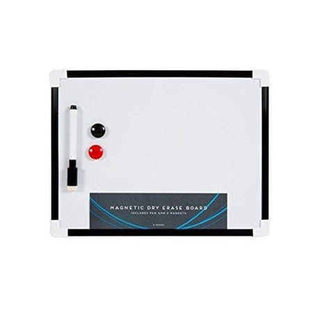 Itp Imports A4 Dry Wipe Magnetic Whiteboard Mini Office Notice Memo White Board Pen And Eraser