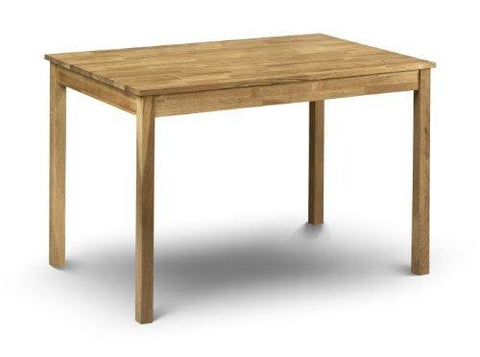 Julian Bowen Coxmoor Solid Oak Rectangular Dining Table Oak