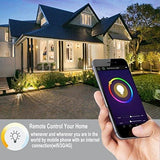 Kainsy B075Wtbd8Z Wifi Remote Controlled Led Lamp Compatible With Alexa And Google 7 W - Warm White