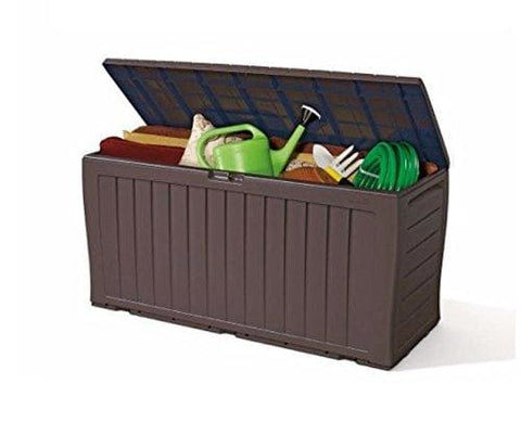 Keter Plastic Storage Box Container Outdoor Garden Furniture 0.5 X 1.2 X 0.4M