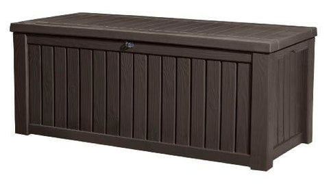 Keter Rockwood Cushion Box Brown 570L