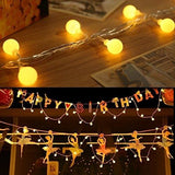 Le Fairy Lights 10M 100 Leds Globe String Light 8 Modes Christmas Party Valentines Day Decorative Lighting Warm White