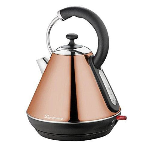 Legacy Cordless Electric Kettle Fast Boil 2200W 1.8L - Copper Colour