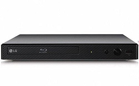 Lg Bp250 Blu-Ray And Dvd Disc Player With Full Hd Up-Scaling And External Hdd Playback - Black