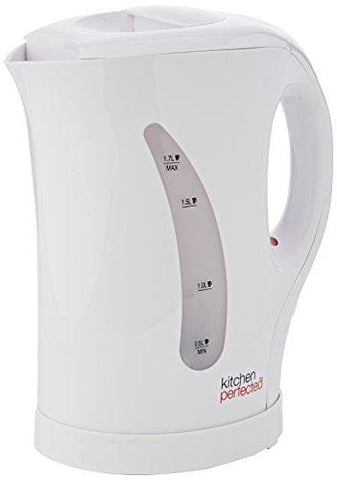 Lloytron E1511Wh Kitchen Perfected Cordless Kettle 1.7 Litre 2 Kw White
