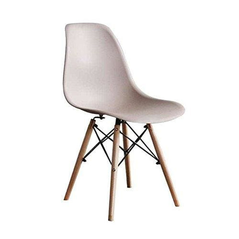 Mof Inspired Eiffel Dining Plastic Chairs Modern Lounge Office Furniture (Warm Grey Mocha)