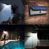 Mpow 54 Led Security Lights Solar Powered Lights Outdoor Wall Lamp Waterproof Solar Lights With 120 Degree Wide Angle Motion Sensor Solar