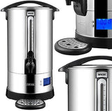 Mylek Xpresso Catering Urn 20L / 80 Cup - Premium Stainless Steel Water Boiler For Tea / Coffee / Hot Water With Boil Dry Digital