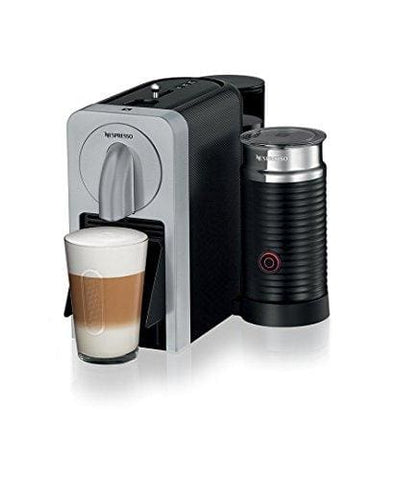 Nespresso Prodigio And Milk Coffee Maker Silver By Magimix