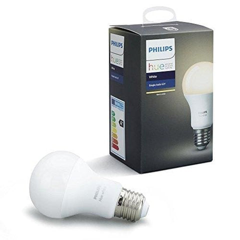 Philips Hue White Single Led E27 Light Bulb Works With Alexa 9.5 W