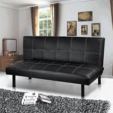 Popamazing Black/red/brown Super Strong Soft Sofa Bed Space-Saving Design Sofabed - Bed Size:168Cm X 93Cm X 32Cm; Sofa Size: 168Cm X 50Cm X
