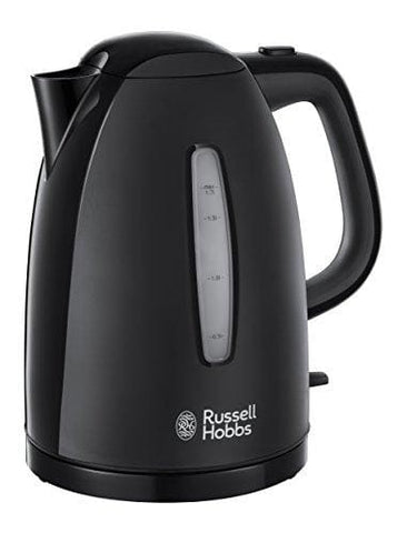 Russell Hobbs Textures Plastic Kettle 21271 1.7 L 3000 W - Black