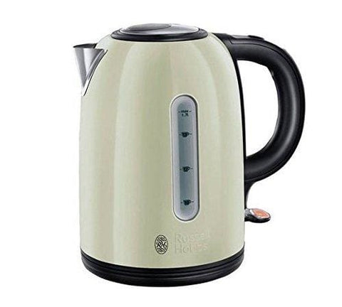 Russell Hobbs Westminster Cream Stainless Steel Kettle 20446