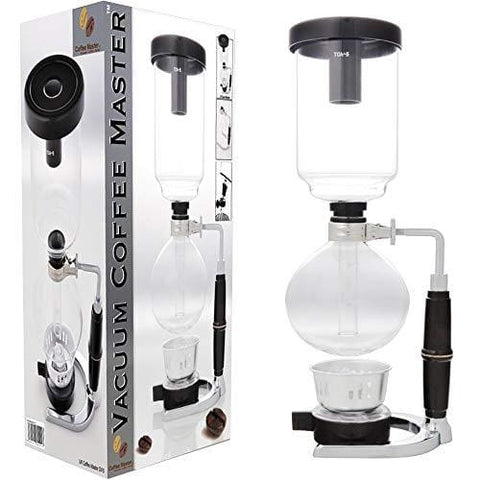 S4U® Coffee Master 5-Cup Syphon/vacuum Glass Coffee Maker (5-Cup Coffee Maker)
