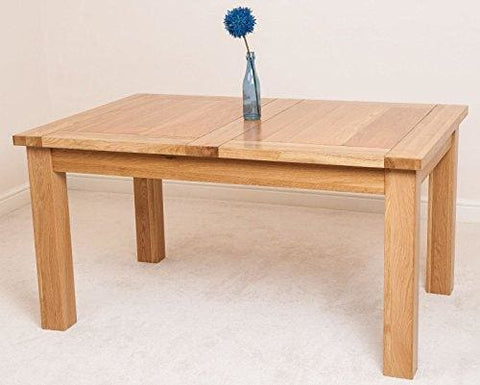 Seattle Solid Oak Extending Dining Table