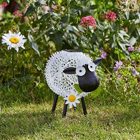 Smart Solar Metal Silhouette Dolly The Sheep