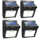 Solar Lights Neloodony Solar Motion Sensor Security Lights 28 Led Waterproof Solar Powered Light Outdoor Lights For Garden Fence Patio Yard