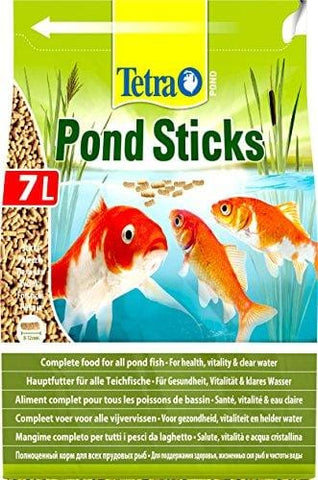 Tetra Pond Sticks Complete Food For All Pond Fish For Health Vitality And Clear Water 7 Litre