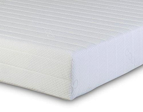 Visco Therapy Memory Foam And Reflex 3 Zone Rolled Mattress With Quilted Maxi-Cool Cover And 2 Pillows - Small Double