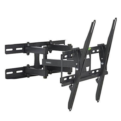 Vonhaus 23-56 Double Arm Tilt & Swivel Tv Wall Mount Bracket With Built-In Spirit Level For Led Lcd 3D Curved Plasma Flat Screen Televisions