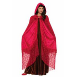 Medieval Ruby Cape