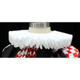 White Ruffle Collar