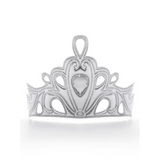 Soft Silver Diva Crown