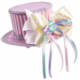 Purple Mini Easter Hat with Bow