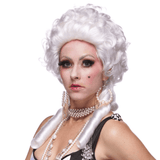 Deluxe White Renaissance Wig