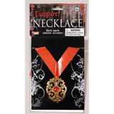 Vampire Necklace With Medallion