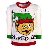 Elfed Up Ugly Christmas Sweater