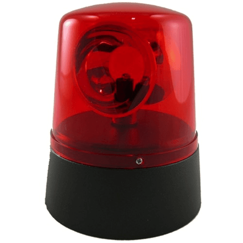 Mini Red LED Police Light