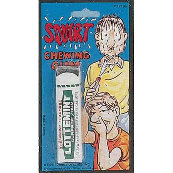 Squirting Chewing Gum