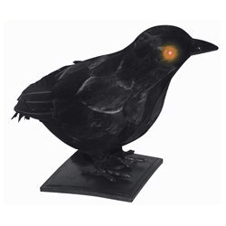 Realistic Crow w/ Light Up Eyes