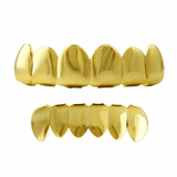 Gold Grillz Top and Bottom