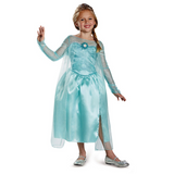 Elsa Snow Queen Gown