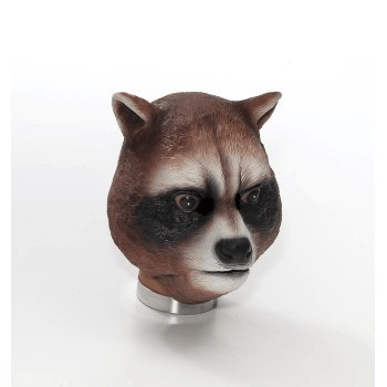 Latex Raccoon Animal Mask