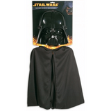 Child's Darth Vader Cape and Mask Set