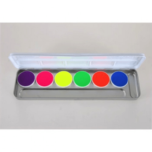 6 Color DayGlow Palette