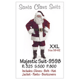 Majestic Santa Suit- 9598