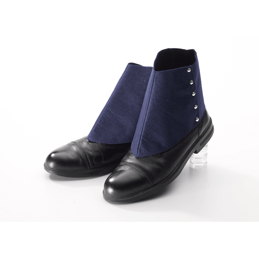 Navy Blue Roaring Twenties Spats