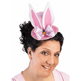 Pink Mini Easter Hat with Bunny Ears