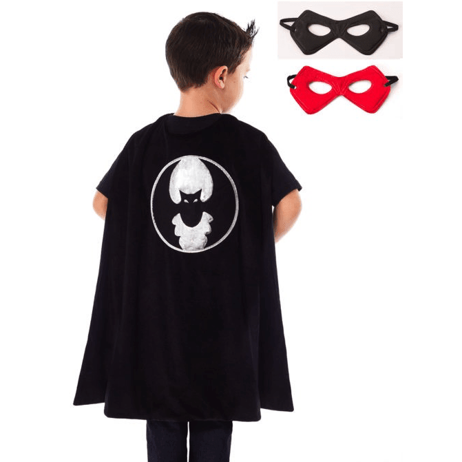 Bat Cape and Mask Set