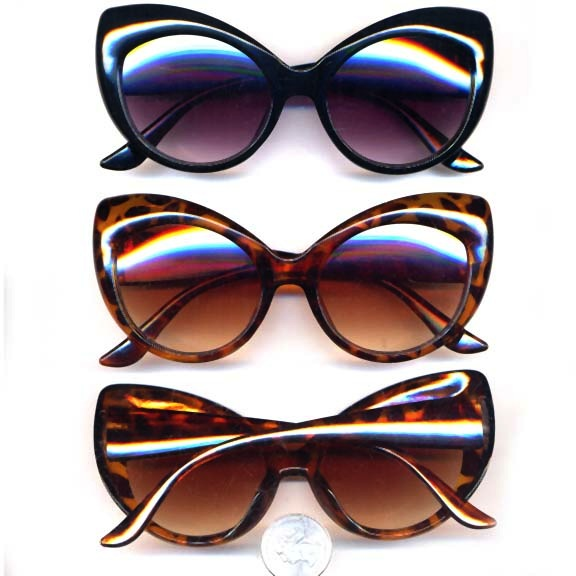Mod Cat Eye Sunglasses ^