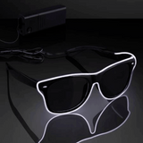 Electro-Luminated Wire Neon Sunglasses