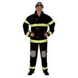 Black Fire fighter Suit S