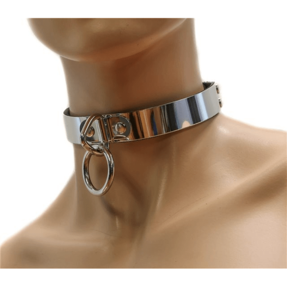 Choker with Loop and Ring
