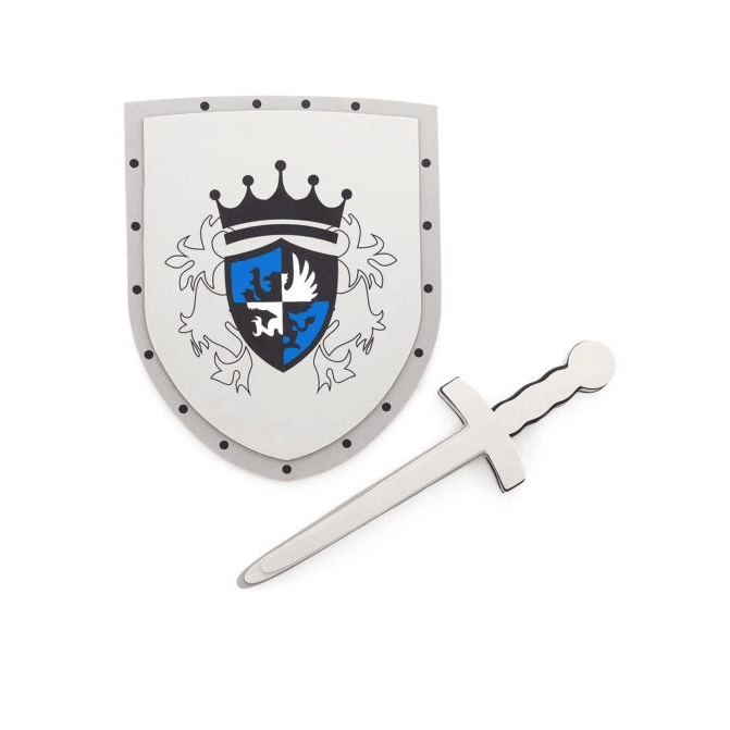 Blue Sword & Shield Set