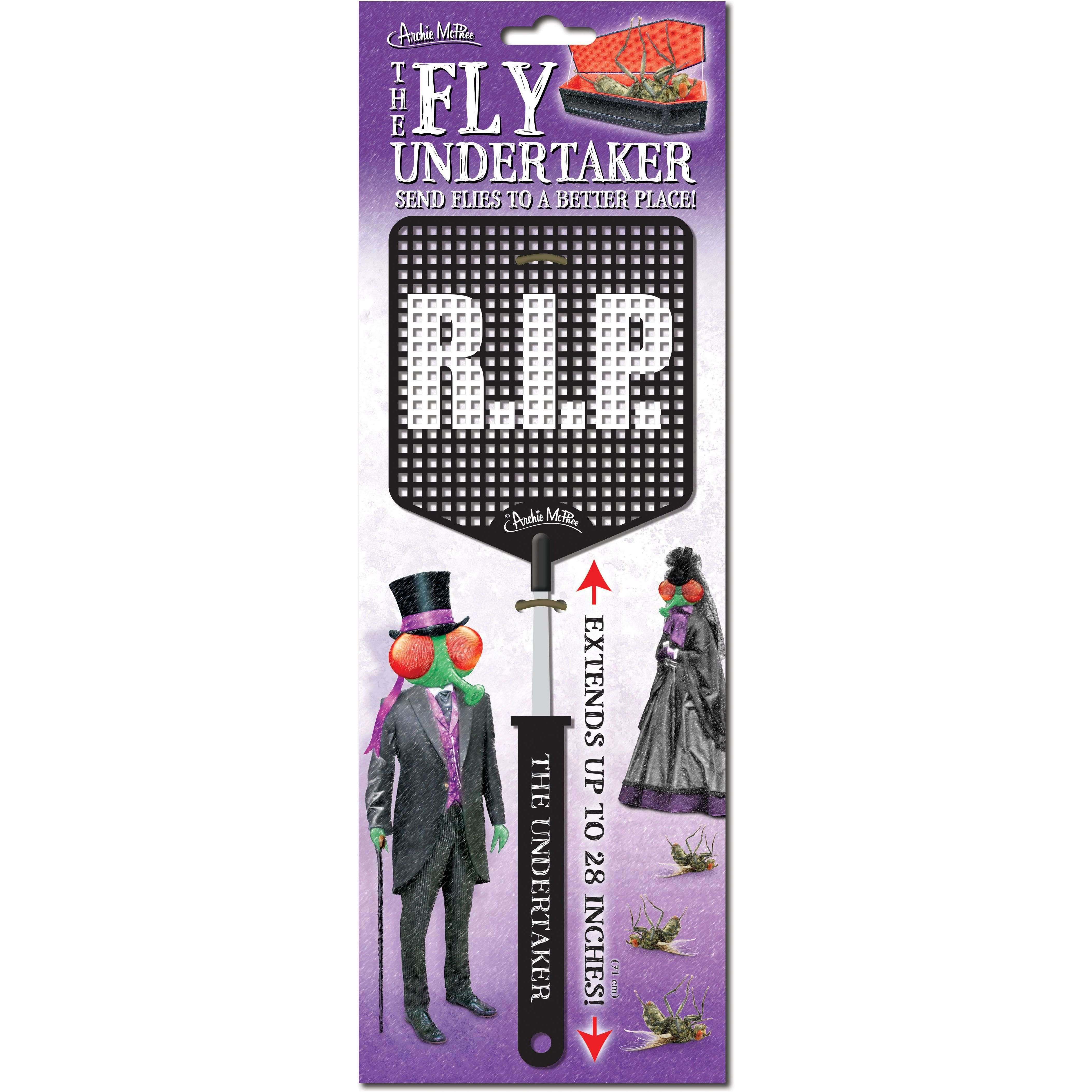 "The Fly Undertaker RIP 28"" Fly Swatter"